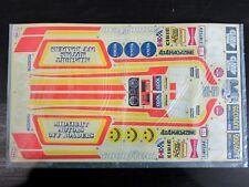 Rare New Original Vintage 1981 Tamiya 1/10 TOYOTA HILUX 4x4 Decal Sticker Sheet