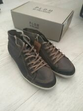 BRAND NEW Palladium Mens Antilope Dark rust Brown leather shoes UK 10.5 EU 45