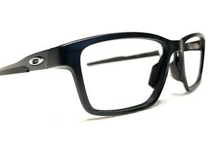 NEW Oakley Metalink OX8153-0155 Men's Satin Black Rx Eyeglasses Frames 55/17~136