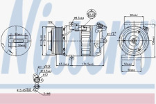 Kompressor Klimaanlage - Nissens 89313