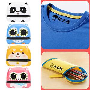 Kleidung Stempel Name Selbstfarb Kinder  Textil  Schule