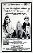 Jerry Cantrell 2002 San Diego Concert Tour Poster - Alice In Chains Guitarist
