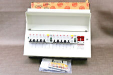 Wylex 10 Way 3rd Amendment High Integrity Metal Consumer Unit with 2 RCDs Loaded