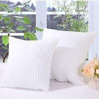 40 x 40cm Cotton Filled Pillow Cushion Inner Pad Insert Home Sofa Decor