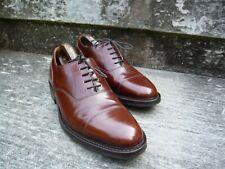 Cheaney Oxford Hombre Zapatos – café/bronceado-UK 8 – Selwyn – Excelentes Condiciones
