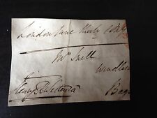 HENRY WESTENRA - IRISH PEER AND POLITICIAN - SIGNED ENVELOPE FRONT