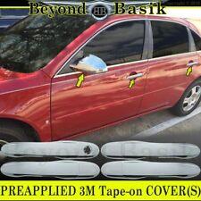 2006-2013 CHEVY IMPALA TRIPLE Chrome Door Handle COVERS+Mirror Overlay Trims