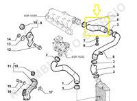 TUBO TURBO ARIA INTERCOOLER LANCIA LYBRA 1900 JTD codice originale 46782191