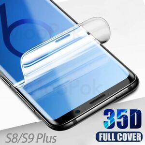 Hydrogel Film Silicone Screen Protector For Samsung Galaxy S10 S9 S8 Plus Lite