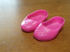 """Disney Frozen Princess Anna 14"""" Toddler Doll Pink Shoes Only Replacement"""