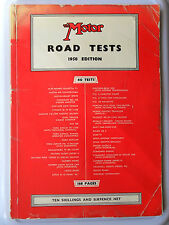 LOTUS SEVEN 7 AND LOTUS XI LE MANS MOTOR ROAD TESTS 1958