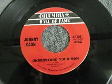 "Johnny Cash it ain't me babe / understand your man - 45 Record Vinyl Album 7"""