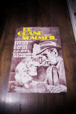 "The Big Sleep Rerelease 1978 31"" x 47"" Half Grande Movie Poster Original"