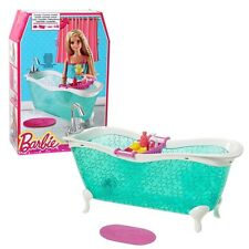 Barbie - Meubles Ameublement Salle de Bain - Baignoire avec Accessoires