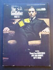 The Godfather Souvenir Song Album Revised Songbook Al Pacino