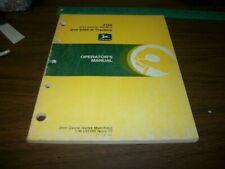John Deere Werke Mannheim 2155 and 2355 N Tractors Operators Manual