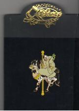 Cruella De Vil Carousel Horse Authentic Disney Auction on card Pin