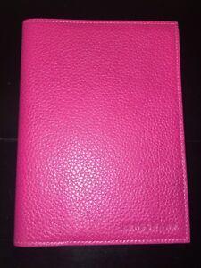 Longchamp brand new pink leather photo album