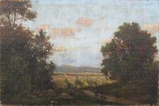 Landschaft mit Jäger,Münchner Schule,19.Jhd.