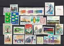 1977 MNH Finland year complete according to Michel system