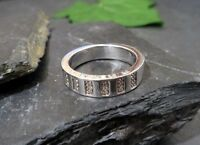 Eleganter 925 Silber Ring COS Zirkonia Modern Designer Sterling Funkelnd Chic