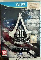 Nintendo Wiiu Assassin's Creed III/3 Join or Die Collector edition Nuova-Italia!
