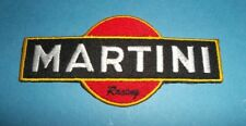 `MARTINI RACING` MOTOR SPORT SEW OR IRON ON PATCH