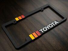 Toyota Retro Style License Plate Frame Trd Offroad Tacoma Fj Cruiser 4x4