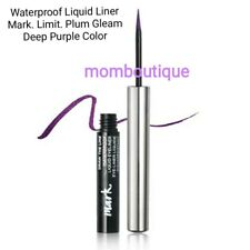 Avon Mark Draw the Line Waterproof Liquid Eye Liner LIMIT Plum Gleam On The Edge