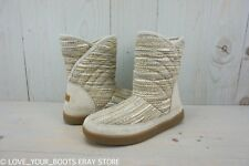 SANUK BIG  BOOTAH BOHO BLANKET NATURAL  BOOTS WOMENS SLIPPERS US 7 NEW