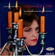 7inch GEORGE GERSHWINPaul whiteman - rhapsody in blueCORAL EX+ (S0182)