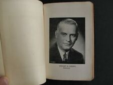 Vintage 1941 Game and Fish Code Book of Illinois - Dwight Green Governor