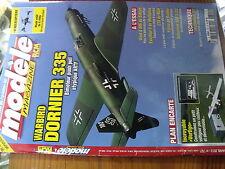 µ?b  Revue Modele magazine RCM n°727 Plan encarté Vertigo / Dornier 335 Easystar