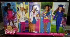 Barbie Career 5 Dolls Fashion Set