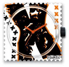 S.T.A.M.P.S. Uhr-   Chromosome  ,Wasserdicht, Stamps
