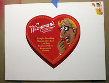 Topps Wacky Packages Wimpman's Original Painting Art Jimenez Valentine's Set