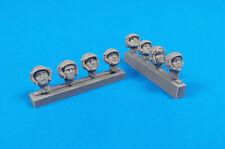 CMK 1/32 Universal cabezas de piloto militar con cascos # F32320