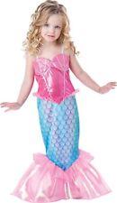 InCharacter Baby Girls Mermaid Costume Pink/turquoise 4t