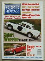 FORD HERITAGE Car Magazine Summer 1995 ISSUE 10  Capri 280TT  LOTUS CORTINA