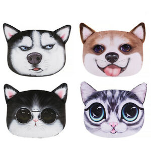 3D Cartoon Animal Car Auto Headrest Pillow Cushion Neck Pillow Universal #G
