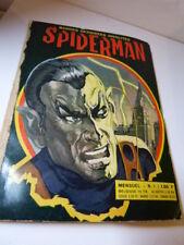 bandes dessinées insolites, spiderman  , N°1,1968 (car15)