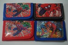 BUY 1 GET 1 FREE Spiderman Boys Kids Child Purse Coins Wallet Party Bag Gift