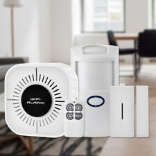 Wireless Security Alarm System Home Wifi App Remote PIR Door Sensor Burglar IP