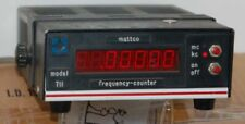 Mattco Model 711 Digital Frequency Counter