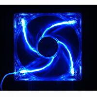 [CoolerMaster] 120mm BLUE LED SLEEVE FAN, 25T, 3pin, 1200rpm, 12VDC