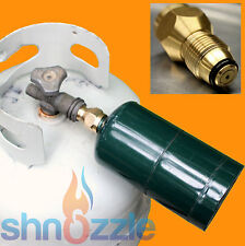 HEAVY DUTY Propane Refill Adapter Lp Gas Cylinder Throw Away Tank Coupler Heater