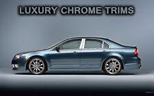 Mercury Milan Stainless Steel Chrome Pillar Posts by Luxury Trims 2006-2011 6pcs