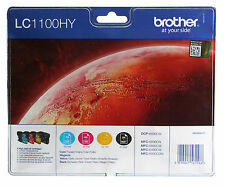 BROTHER LC1100HYVALBPDR Valuepack 4 Pat. für MFC-6890CDW MFC-5890CN