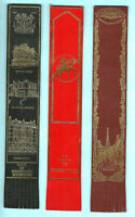 Leather Bookmark Ledbury Hereford Mappa Mundi Tintern Abbey Medieval Knight Map