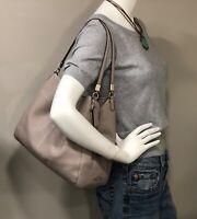 COACH Madison Light Tan Leather Phoebe Handbag Purse Shoulder Bag Tote